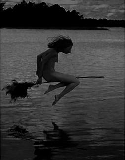 skimming-witch